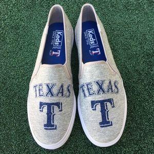 NWT Keds MLB Texas Rangers Double Decker Sneaker